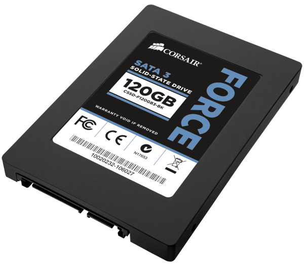 SSD Corsair Force Series 3 120GB SATA 3 6Gbps Solid-State Hard Drive